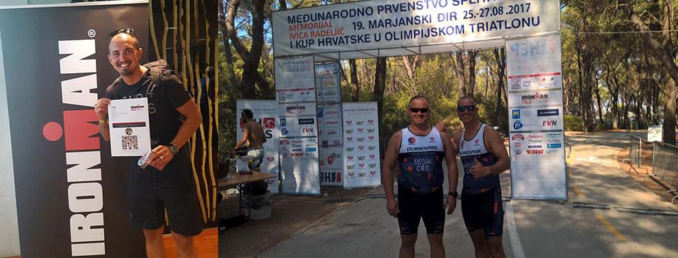 Uspješan vikend za dubrovačke triatlonce u Splitu, Austriji i Dubrovniku